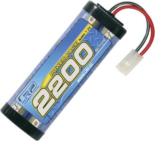 NiMH accupack 7.2 V 2200 mAh LRP Electronic Stick Tamiya-bus