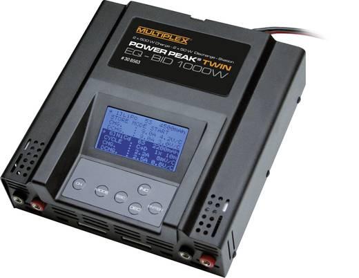 Power Peak Twin EQ-BID Modelbouw multifunctionele lader 24 V 20 A Lood, NiCd, NiMH, Li-poly, Li-ion, LiFePO