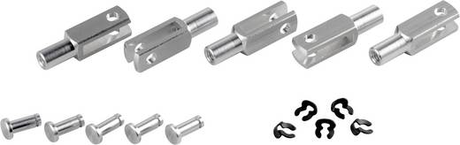 Modelcraft Aluminium Gaffelkop M3 5 stuks