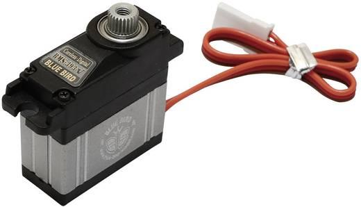 Bluebird Mini-servo BMS-393V Digitale servo Materiaal (aandrijving): Metaal Stekkersysteem: JR