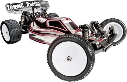 Team C TC02E Evo 1:10 RC auto Elektro Buggy Achterwielaandrijving Bouwpakket
