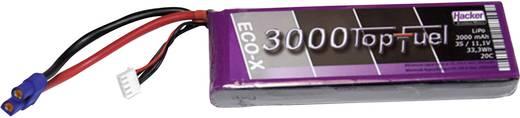 LiPo accupack 11.1 V 3000 mAh 20 C Hacker EC3