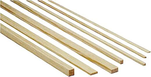 Graupner Grenenhout profielen (l x b x h) 1000 x 8 x 3 mm 10 stuks