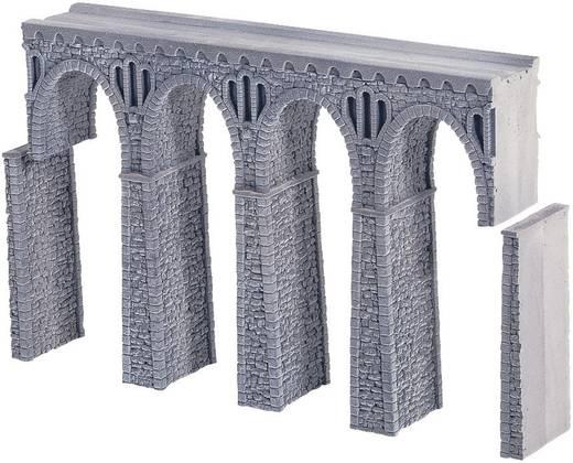 NOCH 58660 H0 stenen boogbrug, recht (l x b x h) 370 x 44 x 245 mm