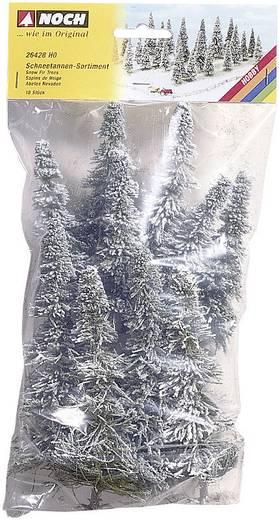 Set bomen Schneetanne Hoogte (min.): 60 mm Hoogte (max.): 150 mm NOCH 26328 Sneeuwwit 25 stuks