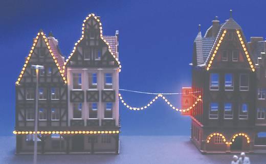 Lichtketting Permanent licht Geel Mayerhofer Modellbau 80002