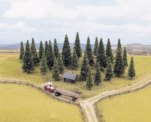 Set bomen Spar Hoogte (min.): 60 mm Hoogte (max.): 150 mm NOCH 26337 Donkergroen 55 stuks