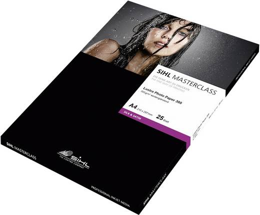 Sihl Masterclass Lustre Photo Paper 4844, 12033984, DIN A3, 300 g/m², Zijdeglans, 25 vellen