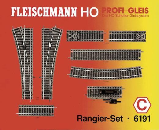 Fleischmann Profi-rails 6191 H0 Rangeerset (1 set)
