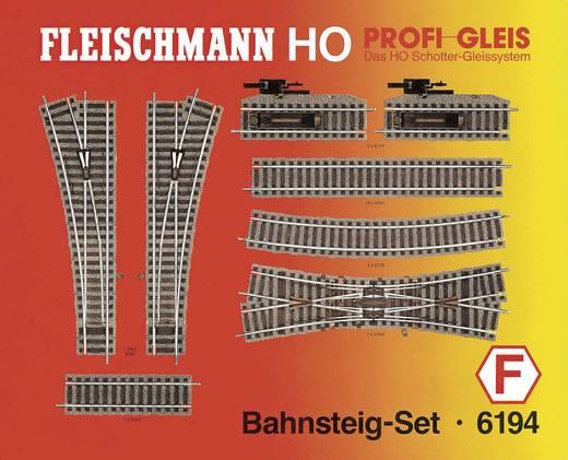 H0 Fleischmann Profi-rails 6194 Uitbreidingsset Perronset 1 set