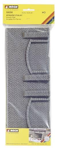 H0 Muur met metselwerk Arcade NOCH 58058