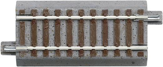 H0 Roco GeoLine (met ballastbed) 61112 Rechte rails 76.5 mm