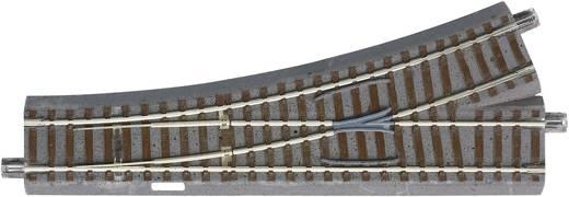 H0 Roco GeoLine (met ballastbed) 61140 Wissel, Links 200 mm