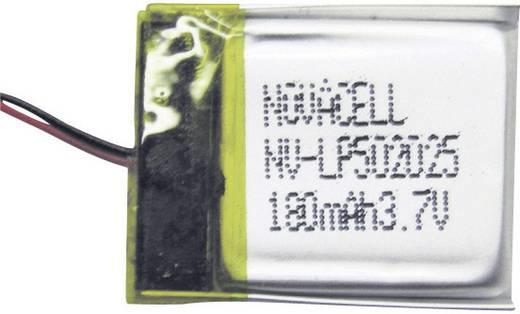 LiPo microaccu Sol Expert L100 (l x b x h) 17 x 18 x 6 mm