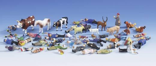 H0 figuren voordeelset mensen & dieren
