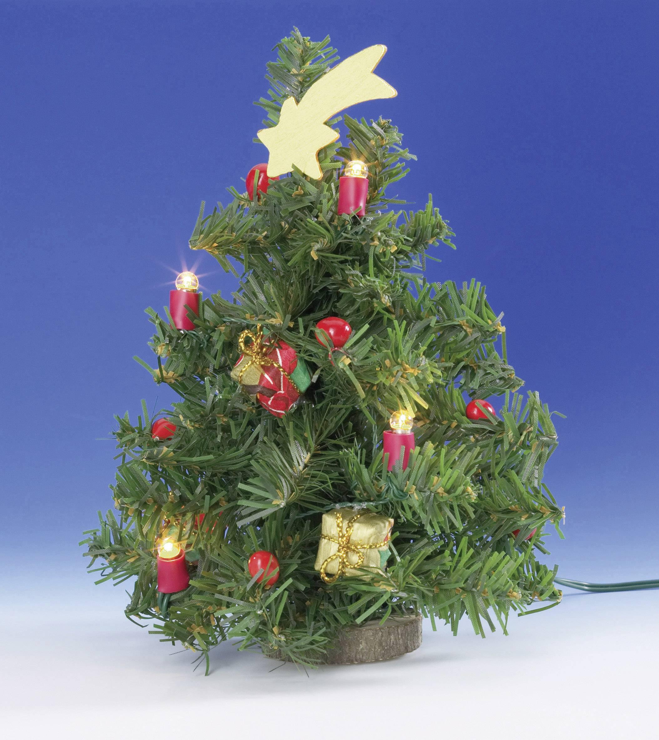 Kahlert Licht 40908 Kerstboom 3.5 V Met verlichting | Conrad.nl