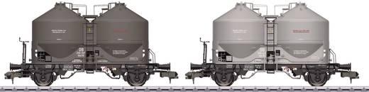 Spoor 1 stofsilowagens KDS 56 van de DB