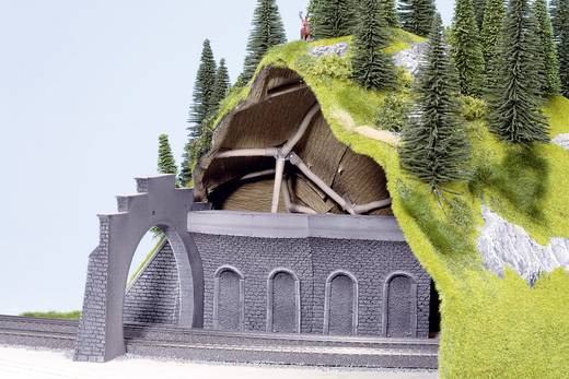 H0 Tunnel-binnenwand Hardschuim model, Gebogen NOCH 58031