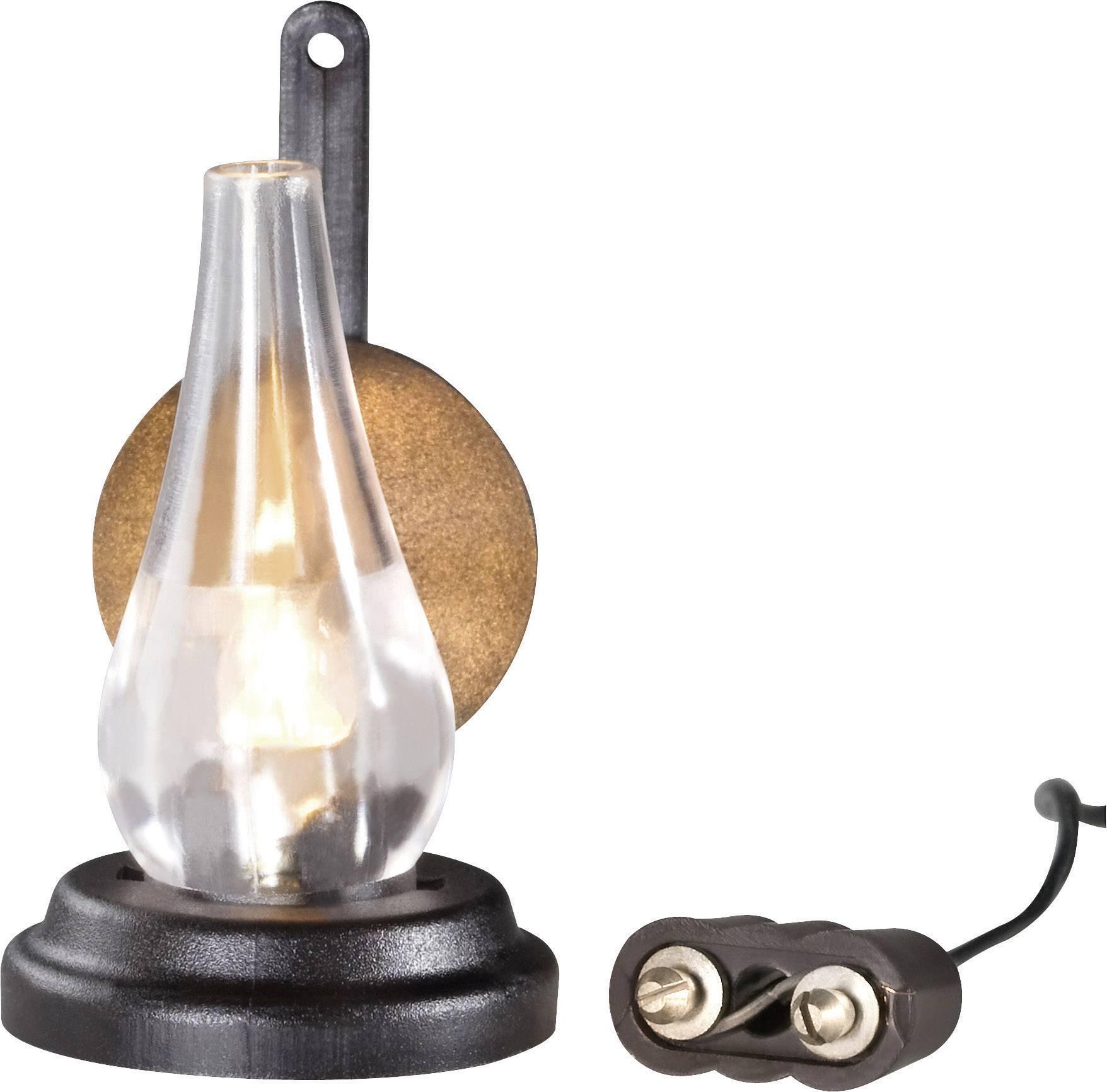 Kahlert Licht 20443 Petroleumlamp 3.5 V Met verlichting | Conrad.nl