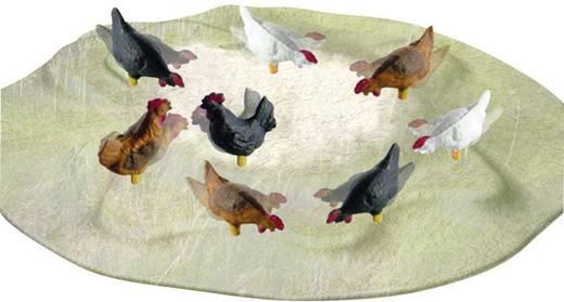 Viessmann 1528 H0 8 kippen en hanen (bewegend)