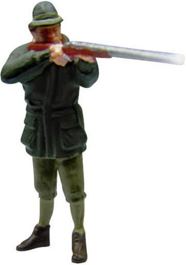 Viessmann 1529 H0 jager met geweer (met effect)