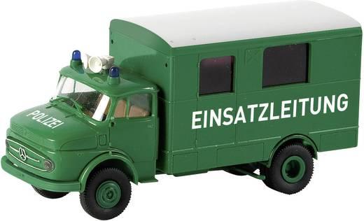 Brekina 94725 H0 Auto Mercedes Benz L 322 Politie commandowagen