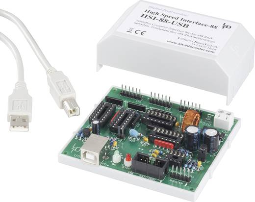 LDT Littfinski Daten Technik HSI-88-USB-G High-Speed USB-interface S 88 Kant-en-klare module, Met behuizing