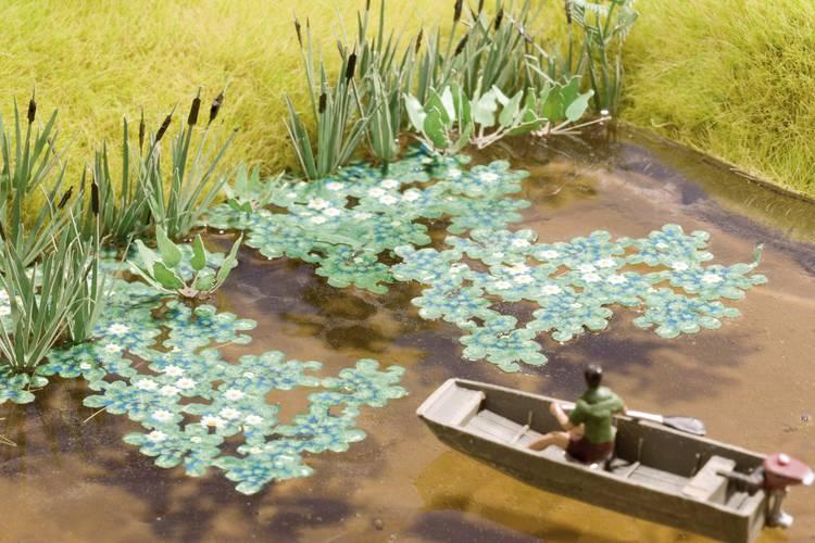 Image of NOCH Laser-Cut minis® 14114 H0 Waterlelies