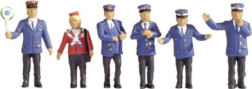 NOCH 15265 H0 figuren spoorwegpersoneel uit Duitsland