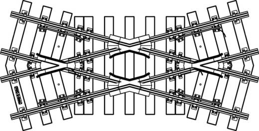 G Piko rails 35240 Kruising 320 mm 30 °