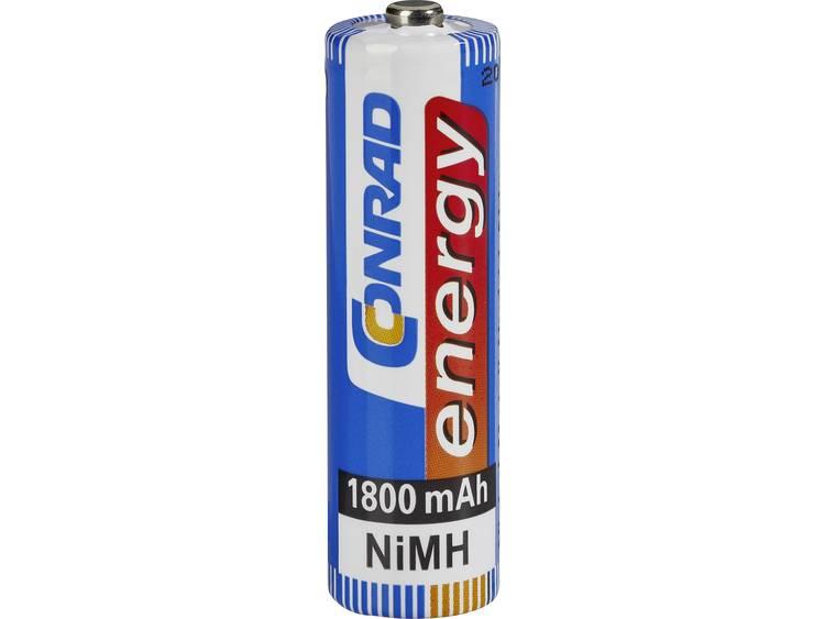 Conrad energy HR06 AA oplaadbare batterij (penlite) NiMH 1.2 V 1800 mAh 1 stuks