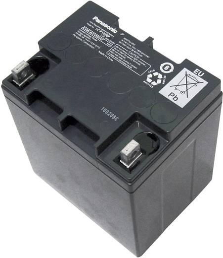 Panasonic LC-P1228AP Loodaccu 12 V 28 Ah LC-X1228P/AP Loodvlies (AGM) (b x h x d) 165 x 175 x 125 mm M5-schroefaansluiting Onderhoudsvrij