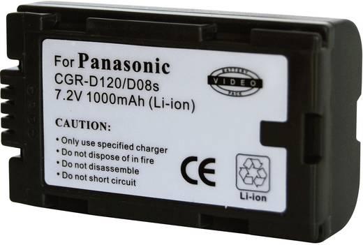 Conrad energy Camera-accu Vervangt originele accu CGR-D120 7.2 V 900 mAh