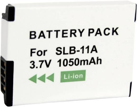 Conrad energy Camera-accu Vervangt originele accu SLB-11A 3.7 V 700 mAh
