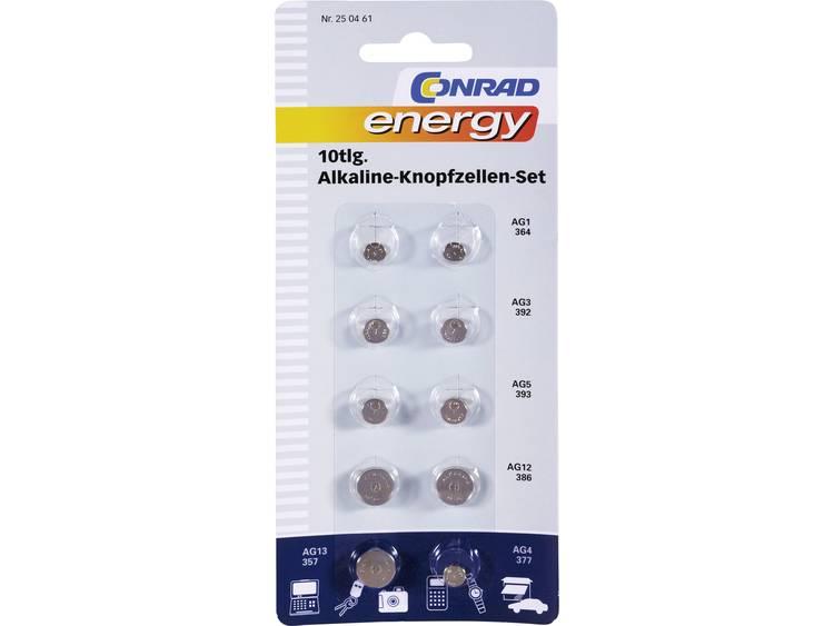 Conrad energy Knoopcelset 10 stuk(s)