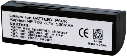 Conrad energy Camera-accu Vervangt originele accu NP-700 3.7 V 550 mAh