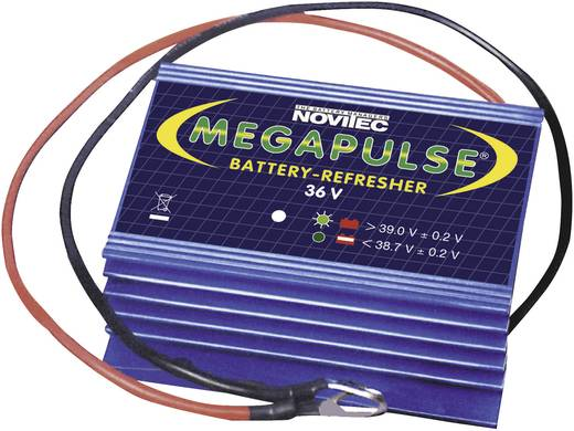 Novitec Megapulse 36V accupulser 655333332 Megapulse 36 V accu-refresher voor Loodgel, Loodzuur, Loodvlies, Lood-calcium