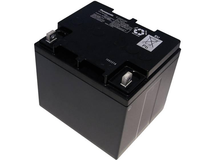 Panasonic LC-XC1238P Loodaccu 12 V 38 Ah Loodvlies (AGM) M6-schroefaansluiting (b x h x d) 197 x 175
