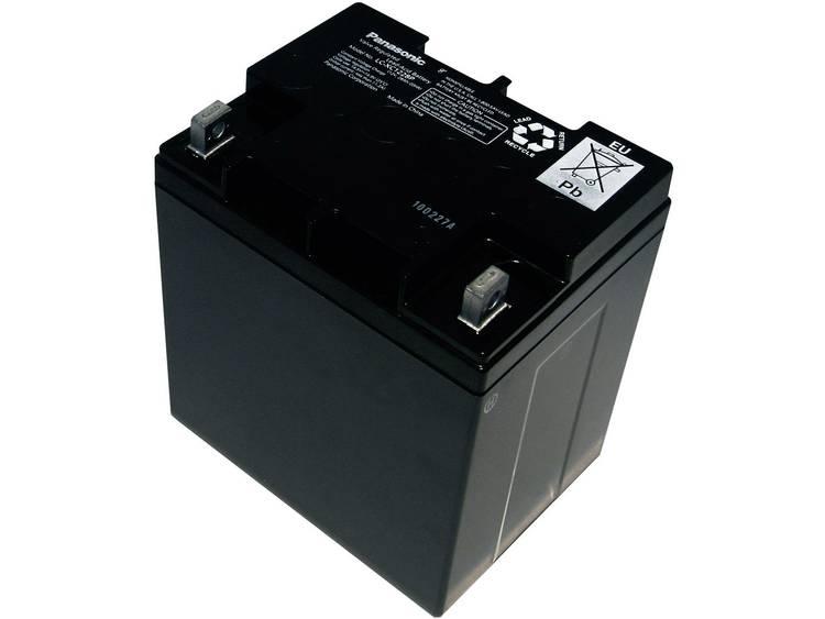 Panasonic 12 V 28 Ah Loodaccu 12 V 28 Ah Loodvlies (AGM) (b x h x d) 165 x 175 x 125 mm M5-schroefaansluiting Onderhoudsvrij, Cyclusbestendig, Geringe