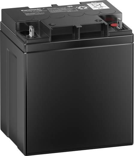 Panasonic LC-XC1228P Loodaccu 12 V 28 Ah LC-XC1228P Loodvlies (AGM) (b x h x d) 165 x 175 x 125 mm M5-schroefaansluiting