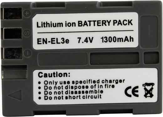 Conrad energy Camera-accu Vervangt originele accu EN-EL3E 7.4 V 1300 mAh