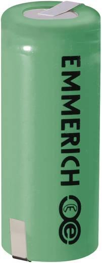 Emmerich ULT-26650-FP-ZLF Speciale oplaadbare batterij 26650 Z-soldeerlip LiFePO4 3.3 V 2600 mAh