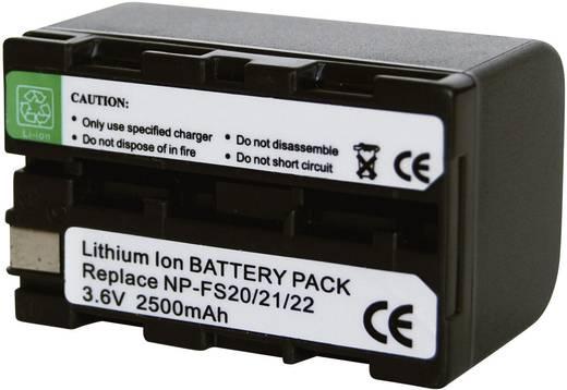 Conrad energy Camera-accu Vervangt originele accu NP-FS20, NP-FS21 3.6 V 2200 mAh