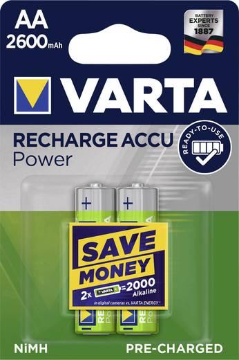 Oplaadbare AA batterij (penlite) NiMH Varta Ready2Use HR06 2600 mAh 1.2 V 2 stuks