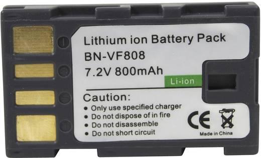 Conrad energy Camera-accu Vervangt originele accu BN-VF808 7.2 V 650 mAh