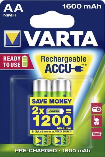 Oplaadbare AA batterij (penlite) NiMH Varta Ready2Use HR06 1600 mAh 1.2 V 2 stuks