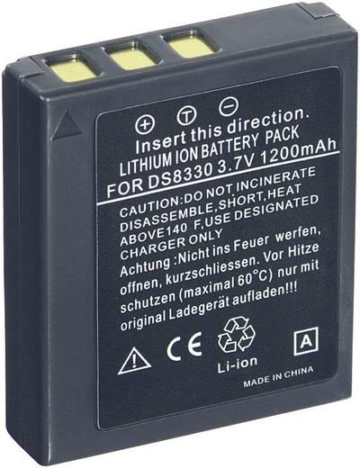 Conrad energy Camera-accu Vervangt originele accu DC-8300, VW-VBE10 3.7 V 1000 mAh