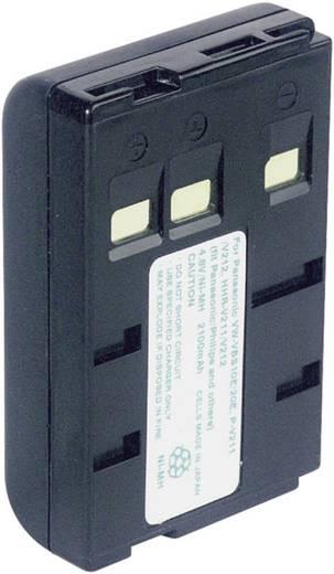 Conrad energy Camera-accu Vervangt originele accu P-V211, P-V22, VW-VBS10E, VW-VBS20E 4.8 V 1800 mAh