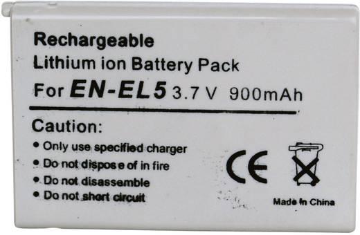 Conrad energy Camera-accu Vervangt originele accu EN-EL5 3.7 V 900 mAh