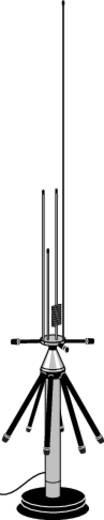 Antenne voor radioscanner (stationsmodel) Albrecht 61690 AE Desktop